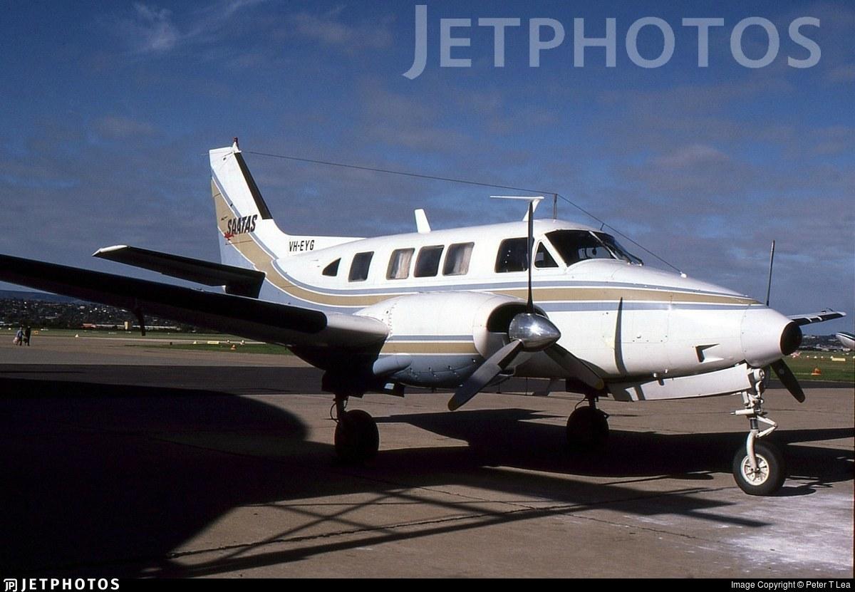 VH-EYG - Beechcraft 65-B80 Queen Air - South Australian and Territory Air Services - SAATAS