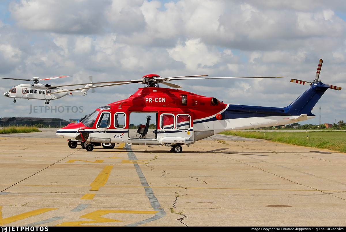 PR-CGN - Agusta-Westland AW-139 - CHC do Brasil Taxi Aereo