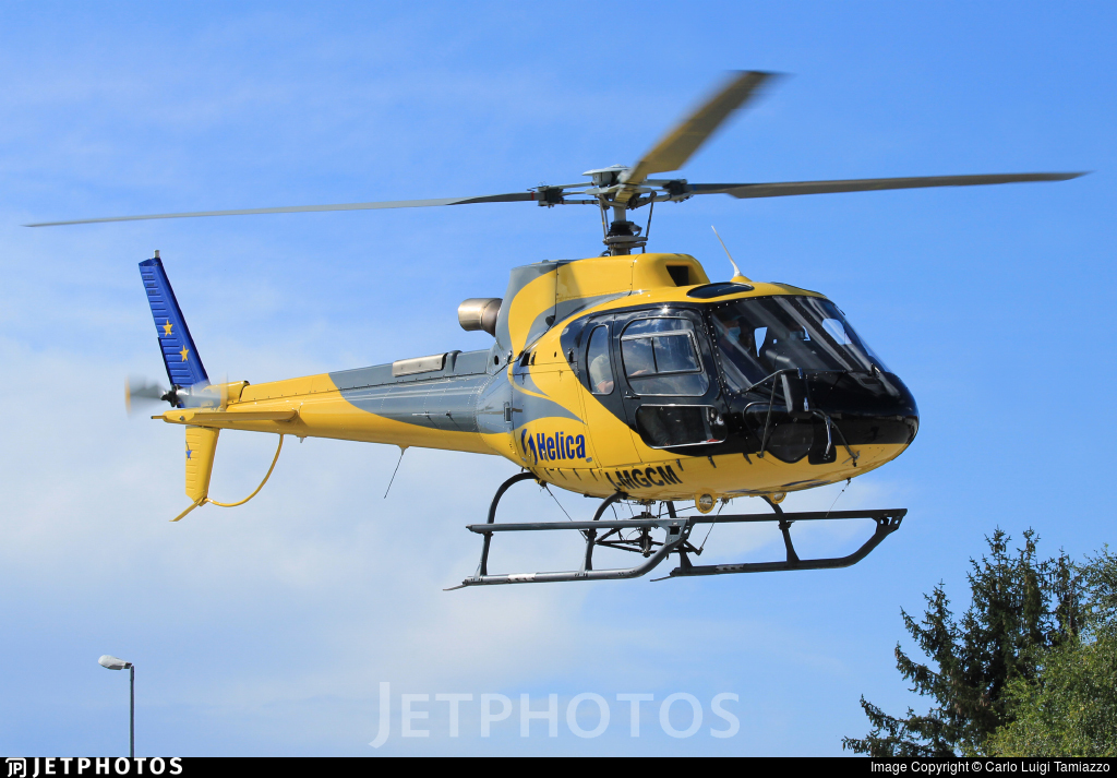I-MGCM - Aérospatiale AS 350B3 Ecureuil - Helica