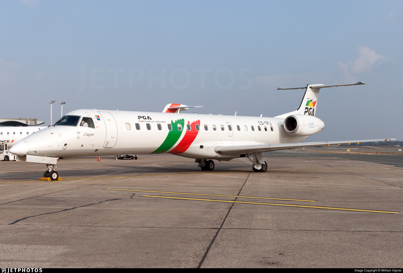 CS-TPJ - Embraer ERJ-145EP - PGA Portugália Airlines