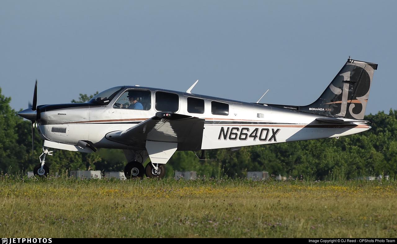 N6640X - Beechcraft A36 Bonanza - Private