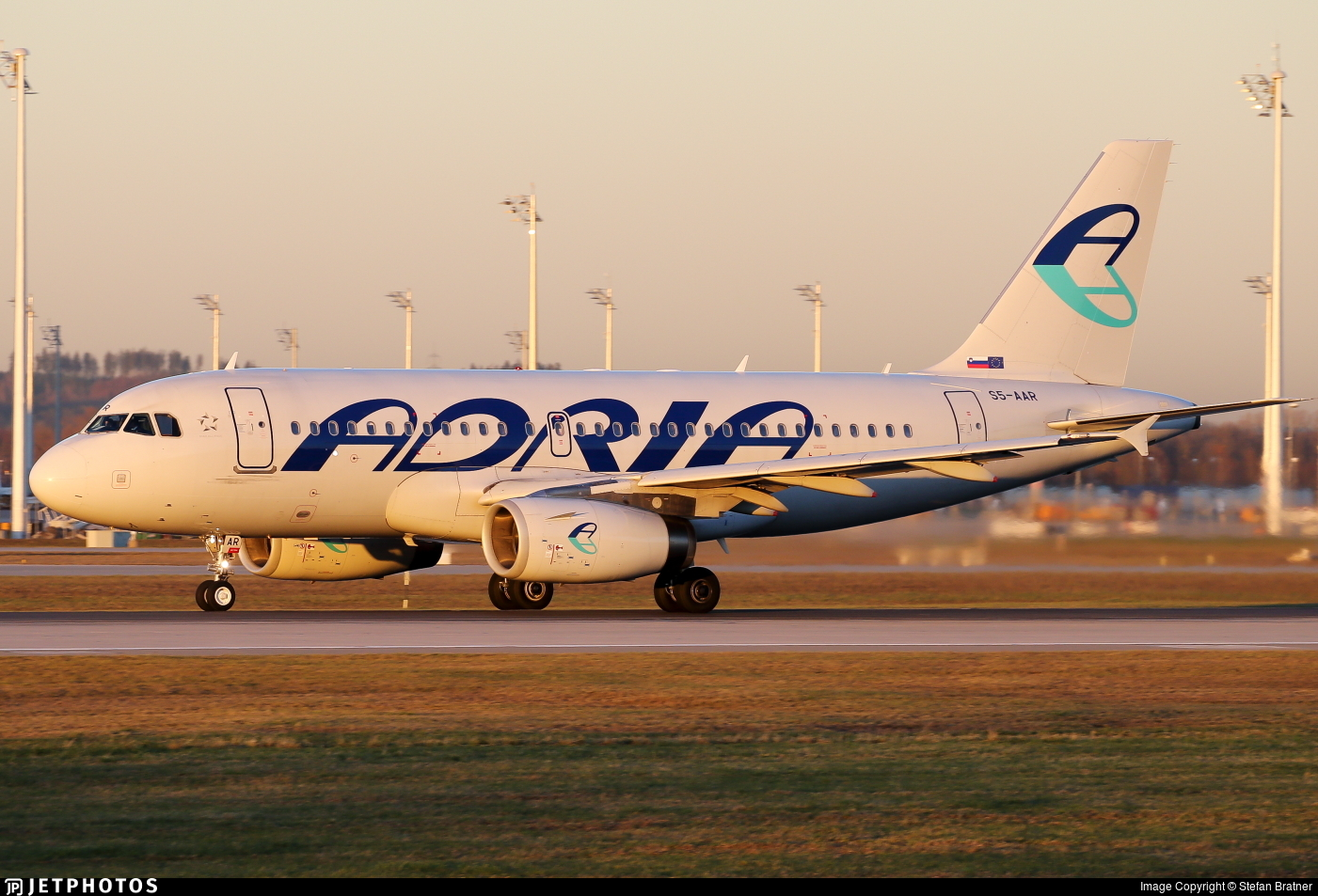 S5-AAR - Airbus A319-132 - Adria Airways