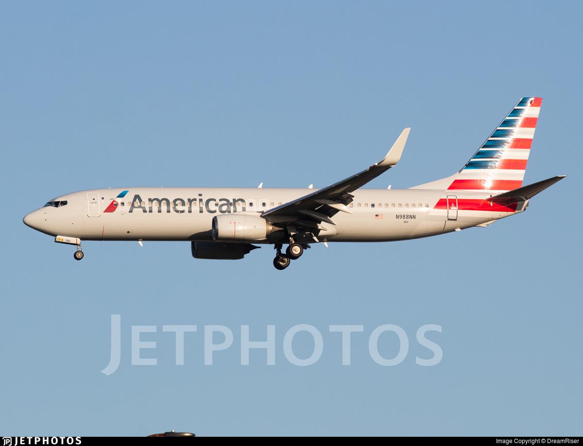 N988NN - Boeing 737-823 - American Airlines