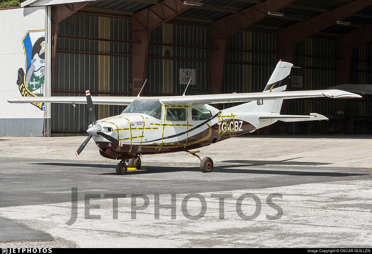 TG-CBZ - Cessna T210R Turbo Centurion II - Private