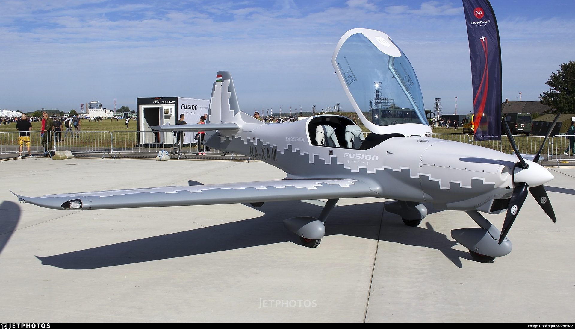 HA-XAM - Magnus Fusion MG-11 Sentinel - Private