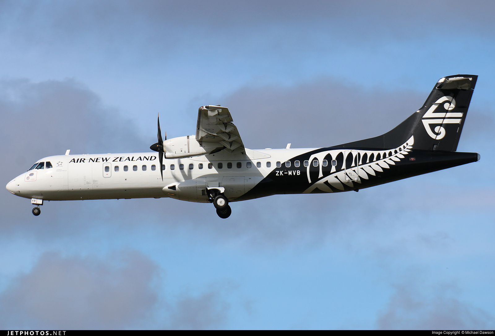 ZK-MVB - ATR 72-212A(600) - Air New Zealand Link (Mount Cook Airline)