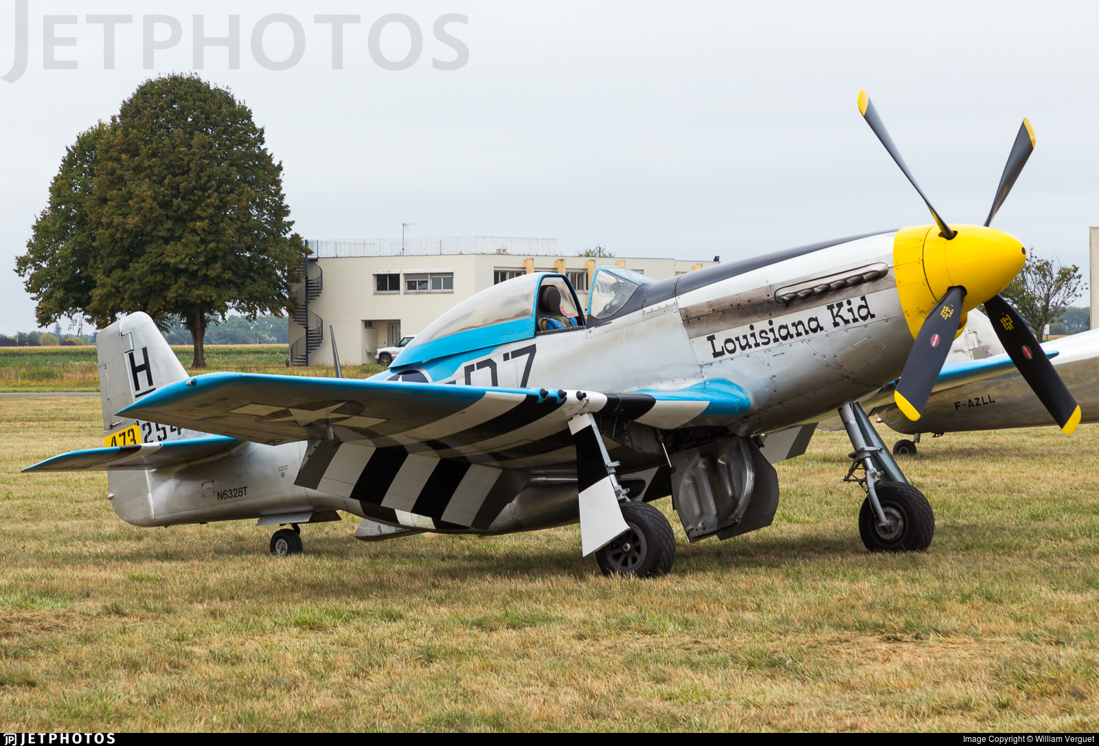 N6328T - North American P-51D Mustang - Private