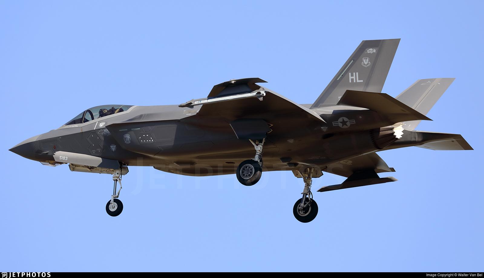15-5183 - Lockheed Martin F-35A Lightning II - United States - US Air Force (USAF)