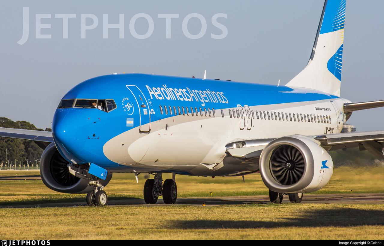 LV-HKV - Boeing 737-8 MAX - Aerolíneas Argentinas