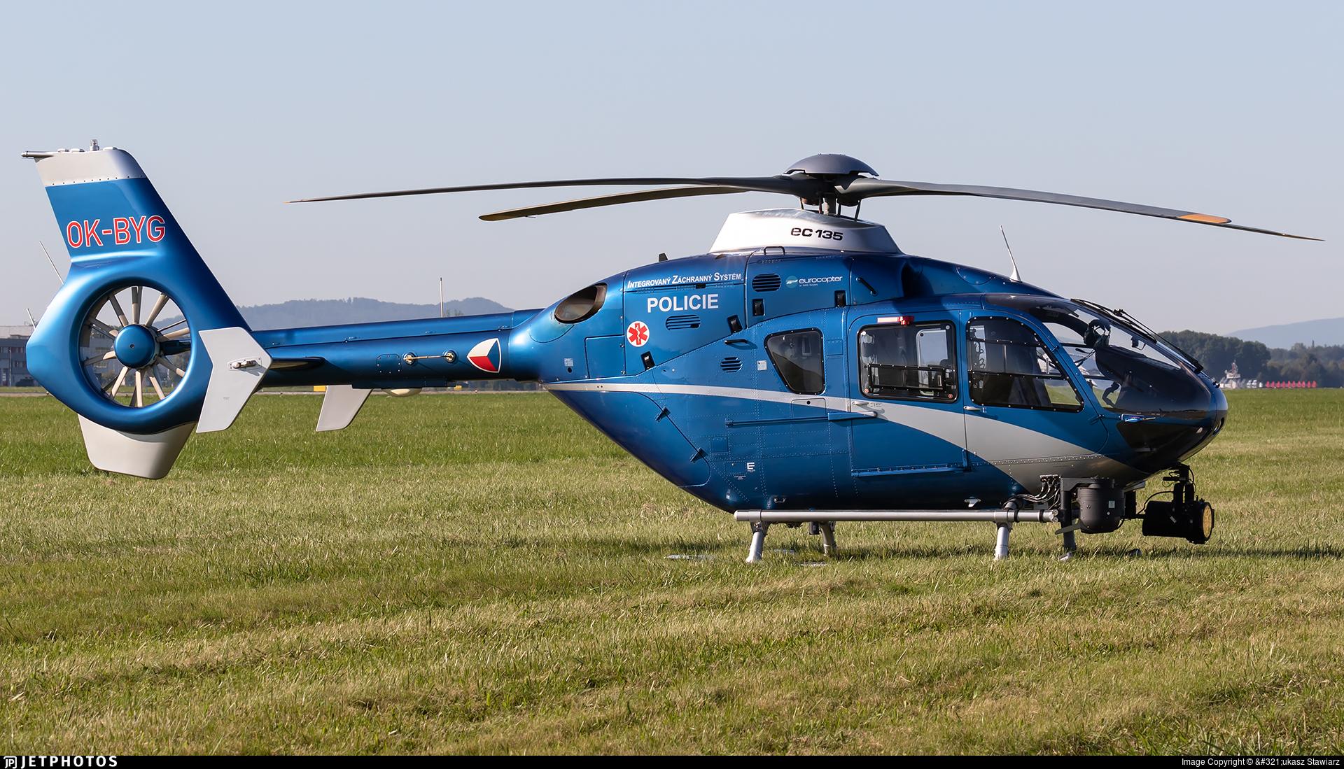 OK-BYG - Eurocopter EC 135T2+ - Czech Republic - Police