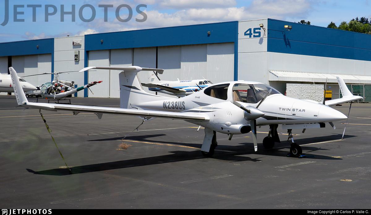 N238US - Diamond DA-42 Twin Star - Private