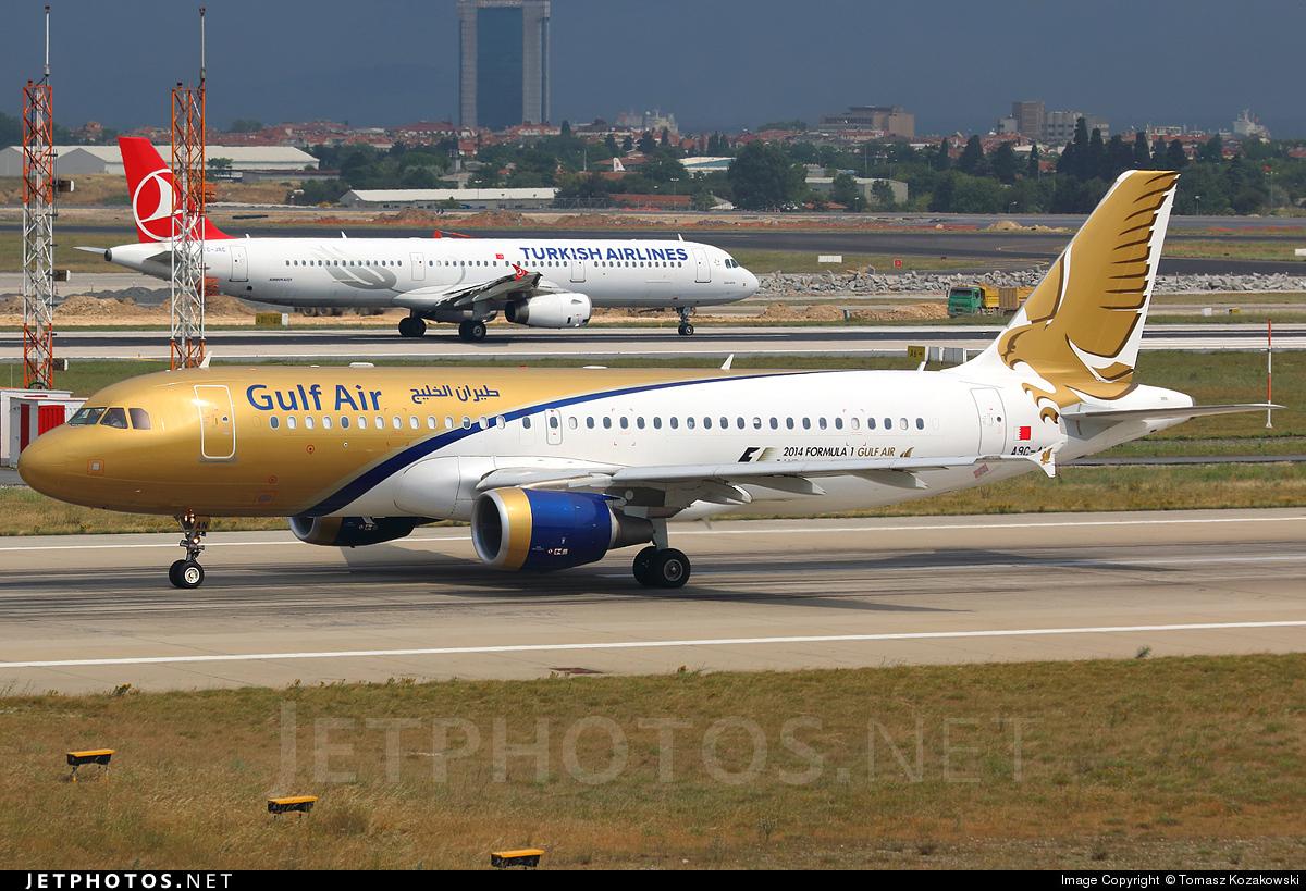 A9C-AN - Airbus A320-214 - Gulf Air