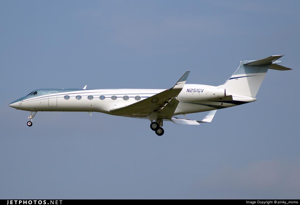 N251GV - Gulfstream G550 - Private