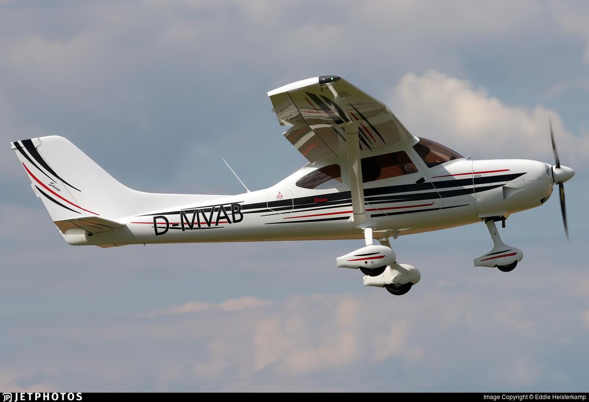 D-MVAB - TL Ultralight TL-3000 Sirius - Private