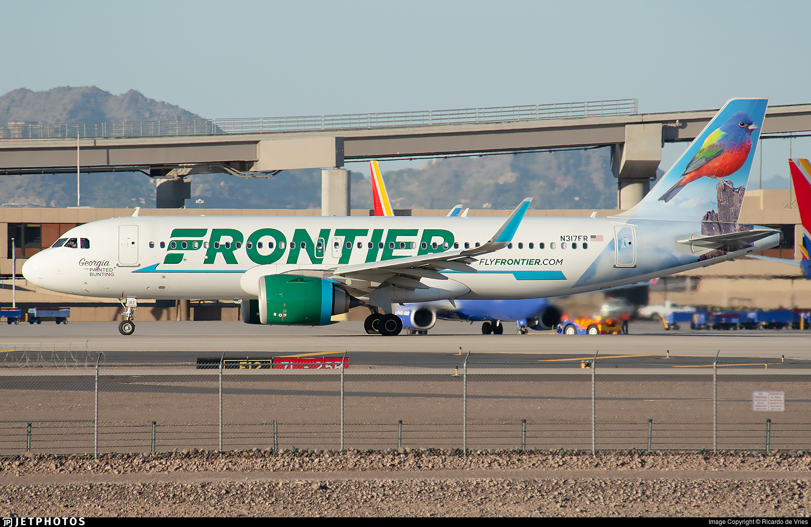 N317FR - Airbus A320-251N - Frontier Airlines