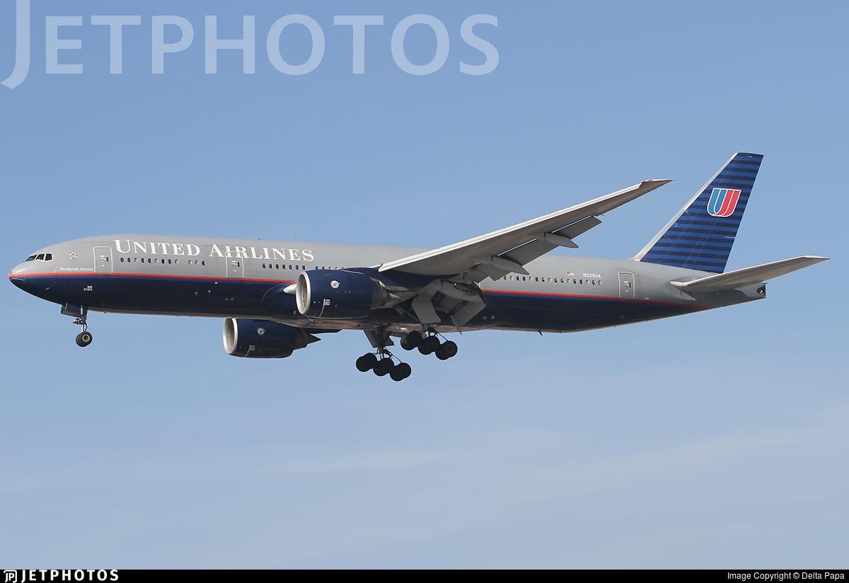 N229UA - Boeing 777-222(ER) - United Airlines