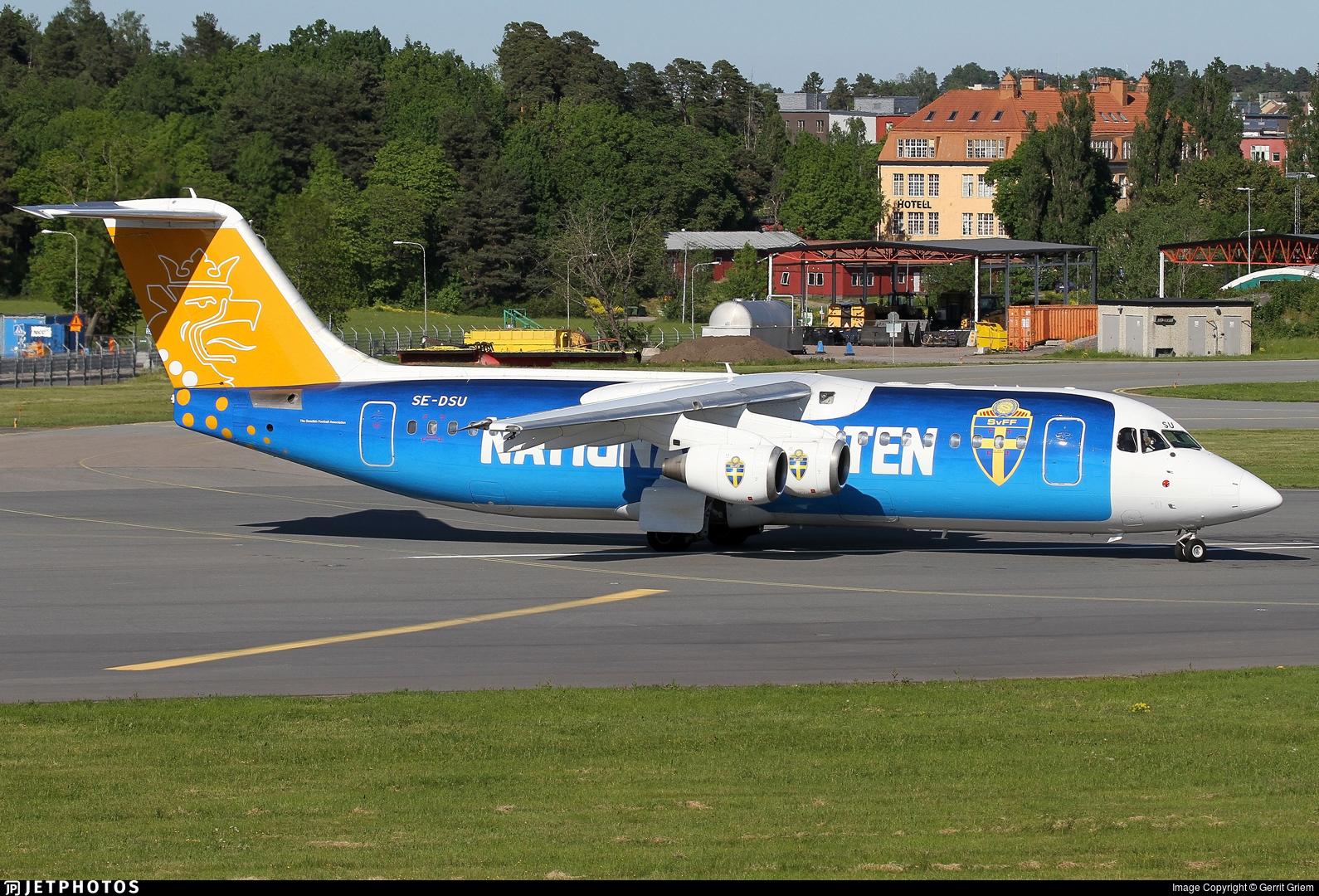 SE-DSU - British Aerospace Avro RJ100 - Malmö Aviation