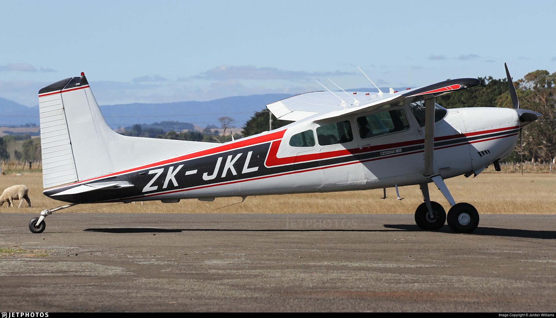 ZK-JKL - Cessna A185F Skywagon - Private
