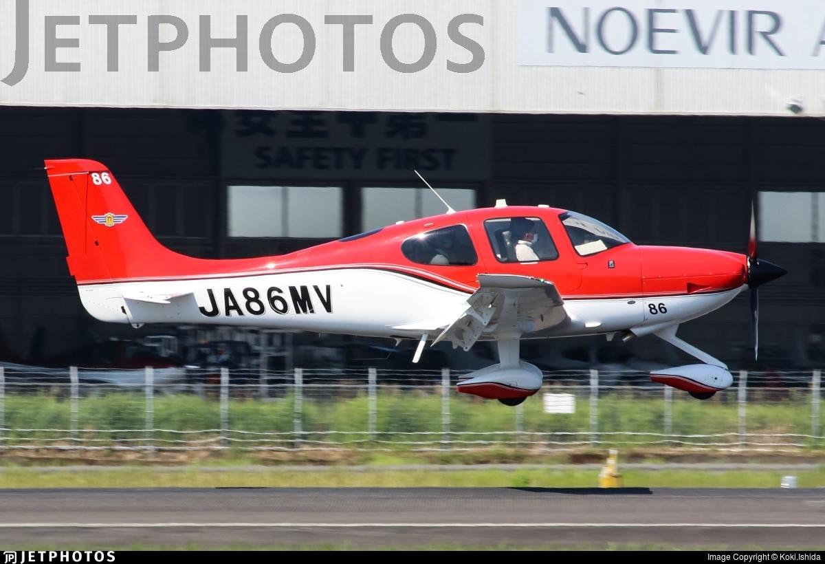 JA86MV - Cirrus SR22 - Japan - Civil Aviation College
