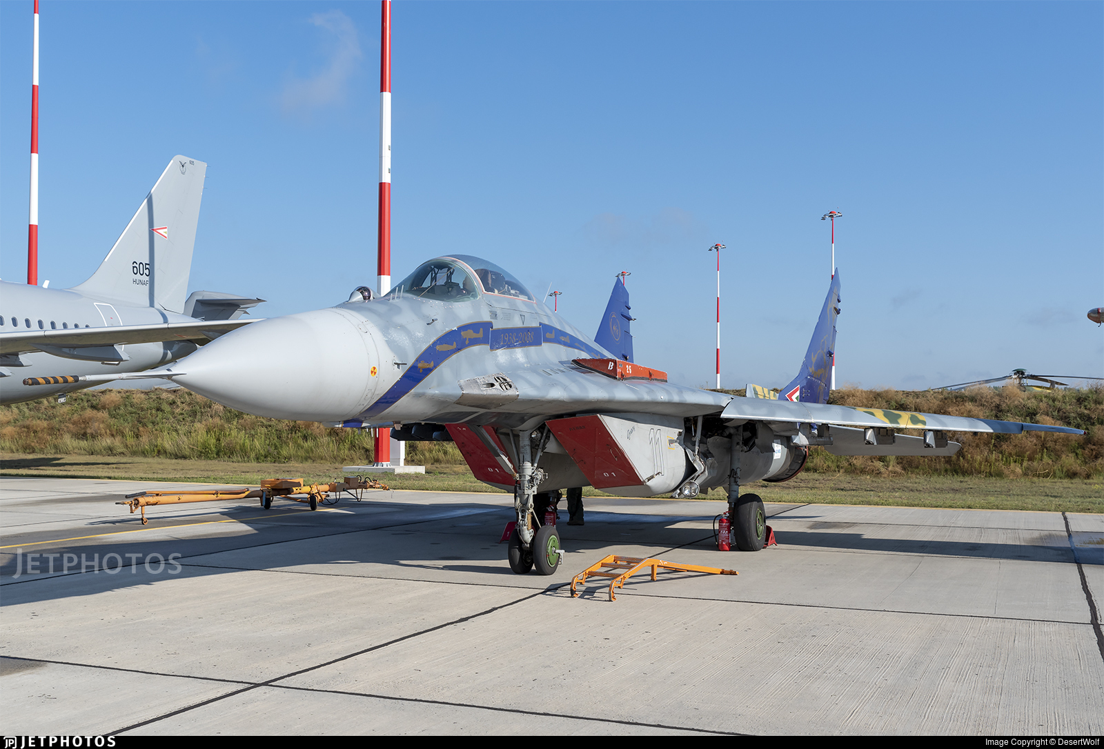 11 - Mikoyan-Gurevich MiG-29A Fulcrum A - Hungary - Air Force