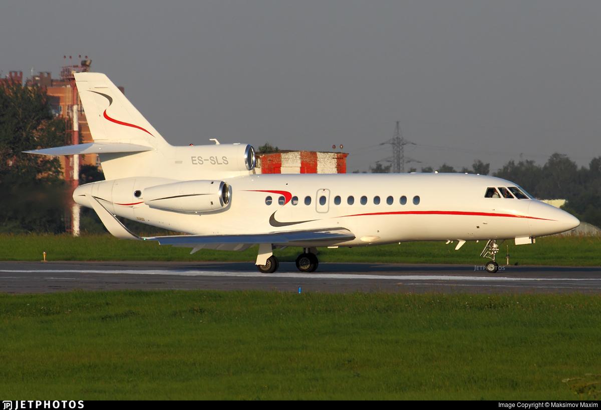 ES-SLS - Dassault Falcon 900EX - Fort Aero