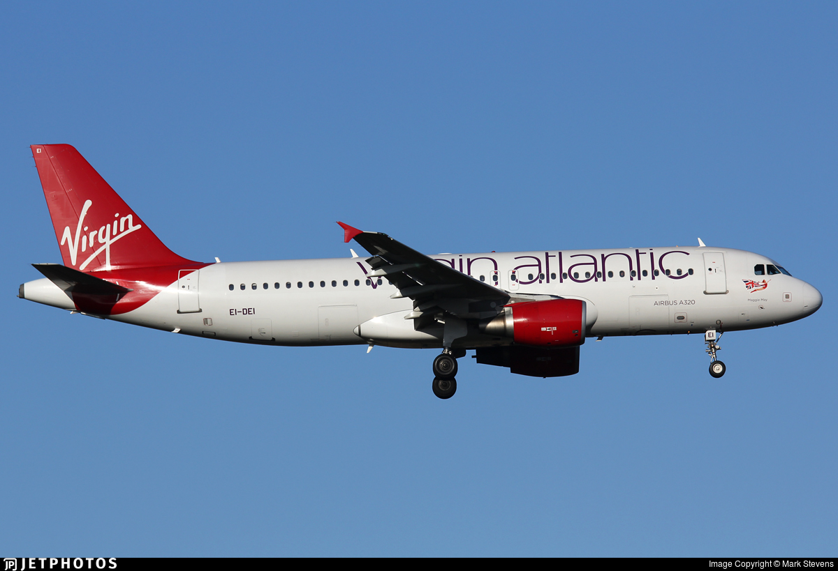 EI-DEI - Airbus A320-214 - Virgin Atlantic Airways (Aer Lingus)