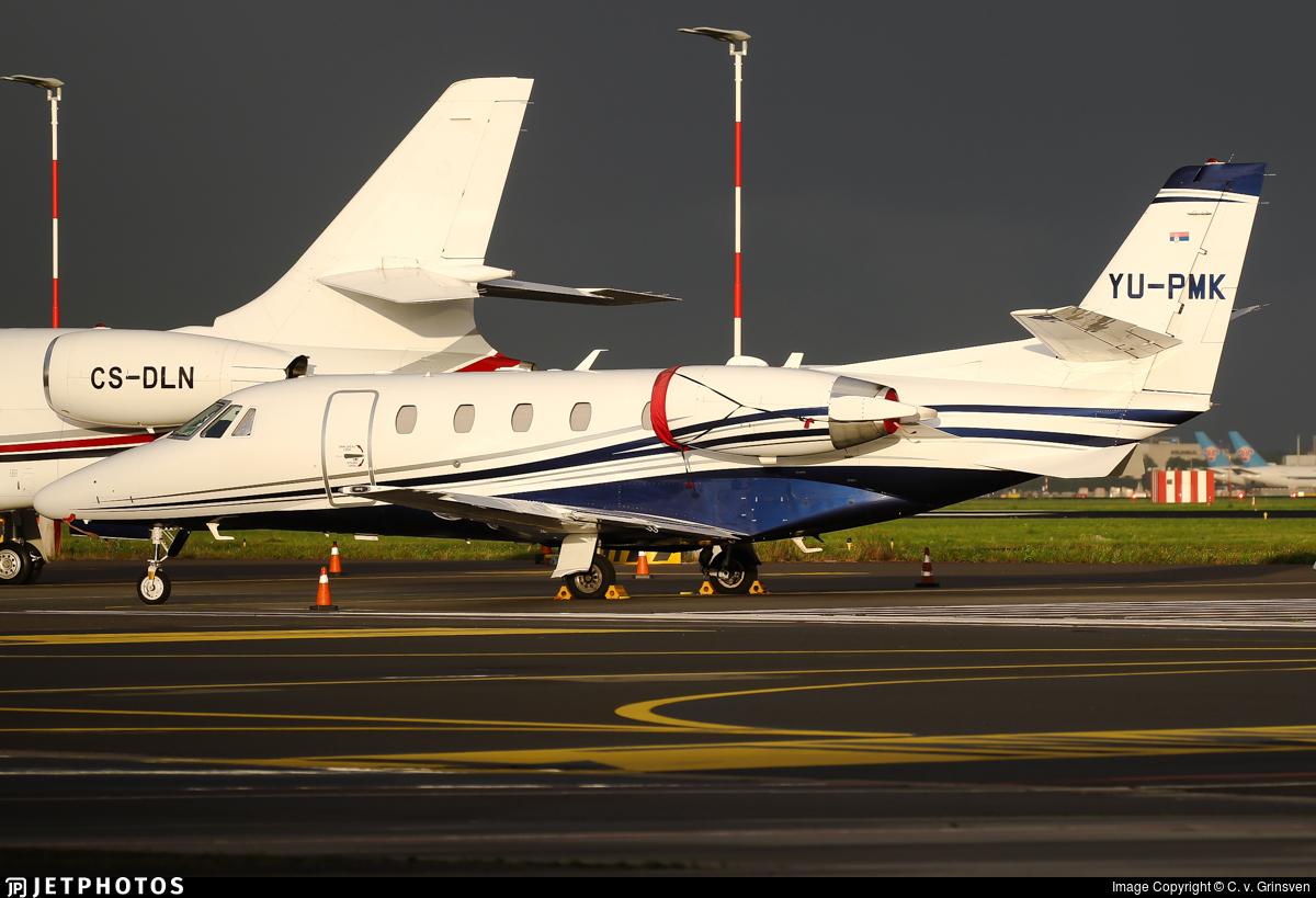 YU-PMK - Cessna 560XL Citation XLS Plus - Air Pink