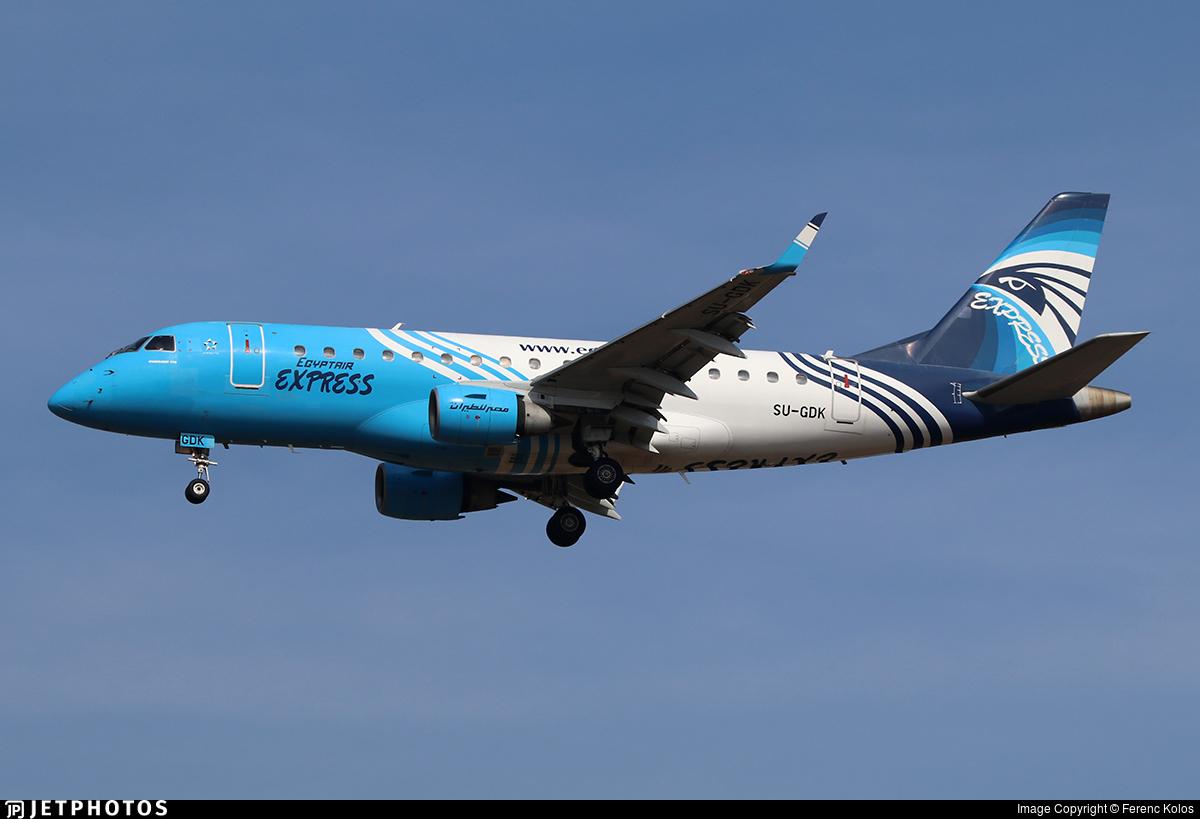 SU-GDK - Embraer 170-100LR - EgyptAir Express