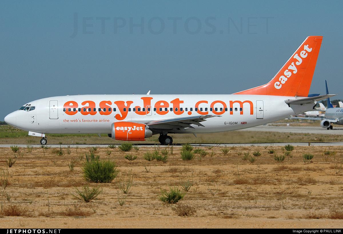 G-IGOM - Boeing 737-36N - easyJet