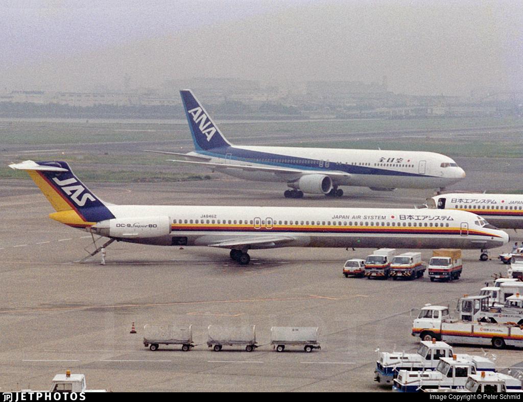 JA8462 - McDonnell Douglas MD-81 - Japan Air System (JAS)