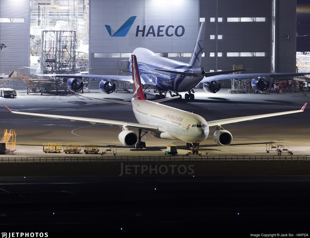 B-LAB - Airbus A330-342 - Cathay Dragon