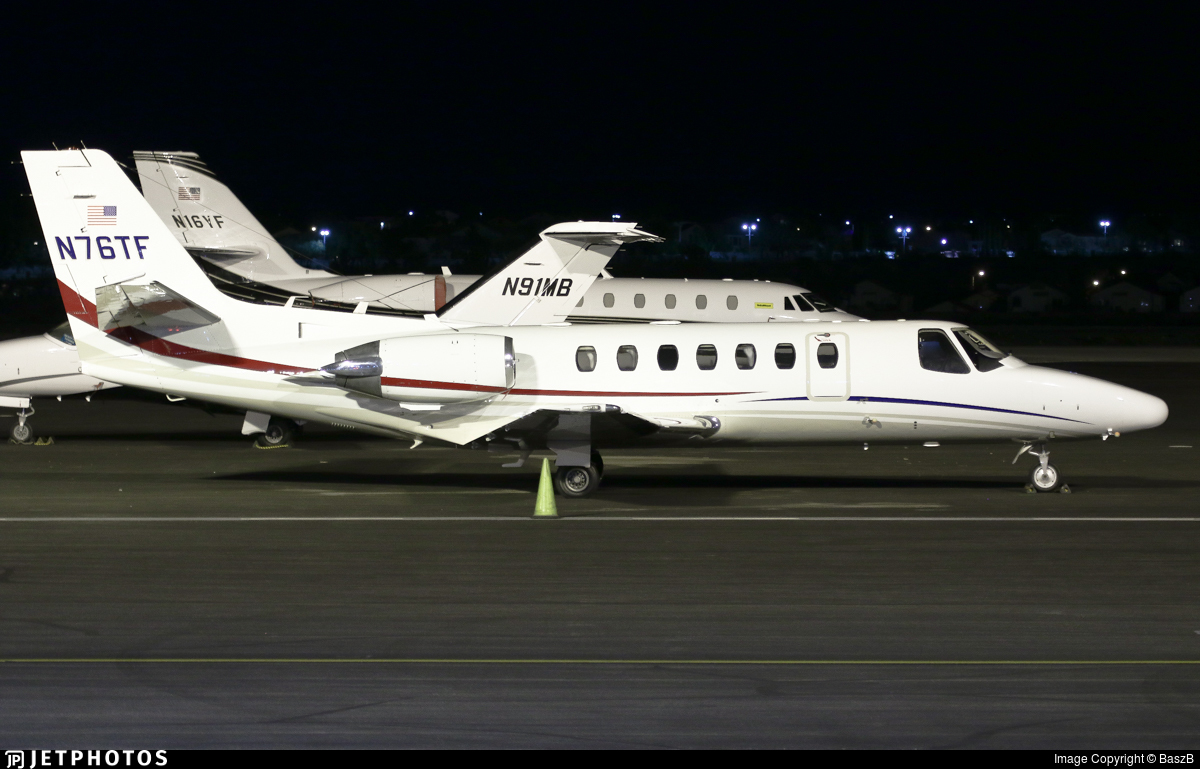 N76TF - Cessna 560 Citation Ultra - Private