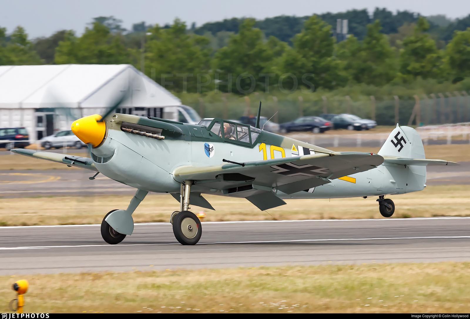 G-BWUE - Hispano HA1112 M1L Buchon - Private