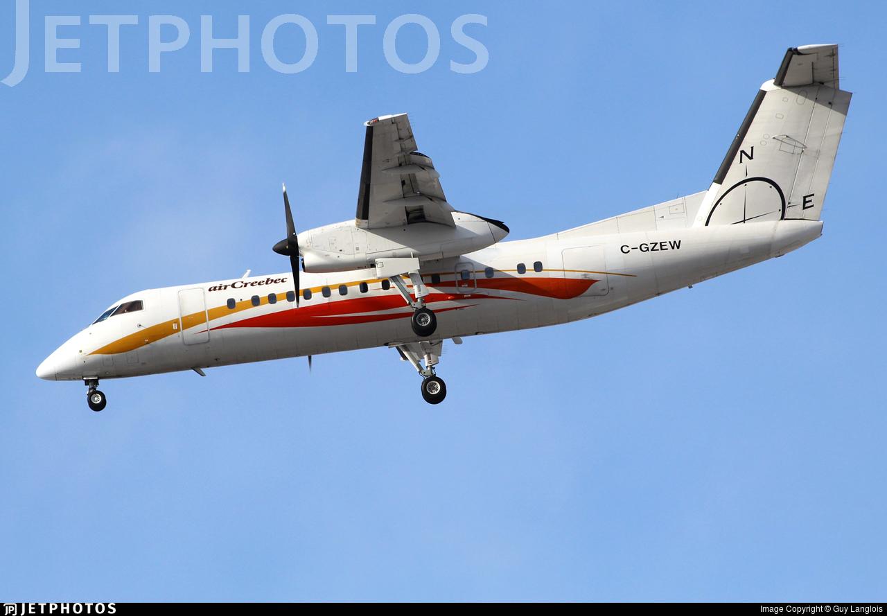 C-GZEW - Bombardier Dash 8-Q314 - Air Creebec