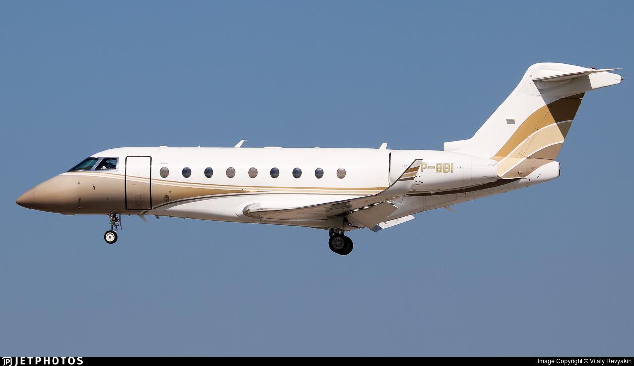 VP-BBI - Gulfstream G280 - SW Business Aviation
