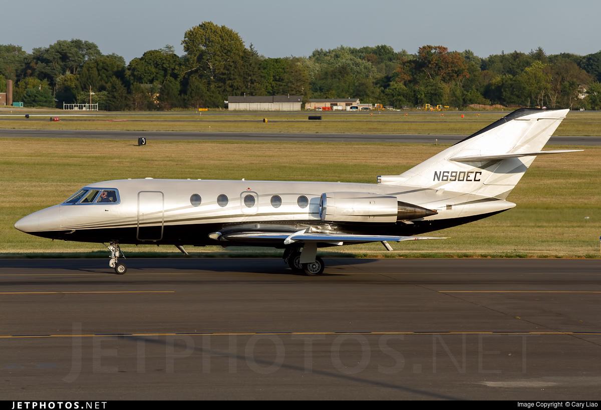 N690EC - Dassault Falcon 200 - Private