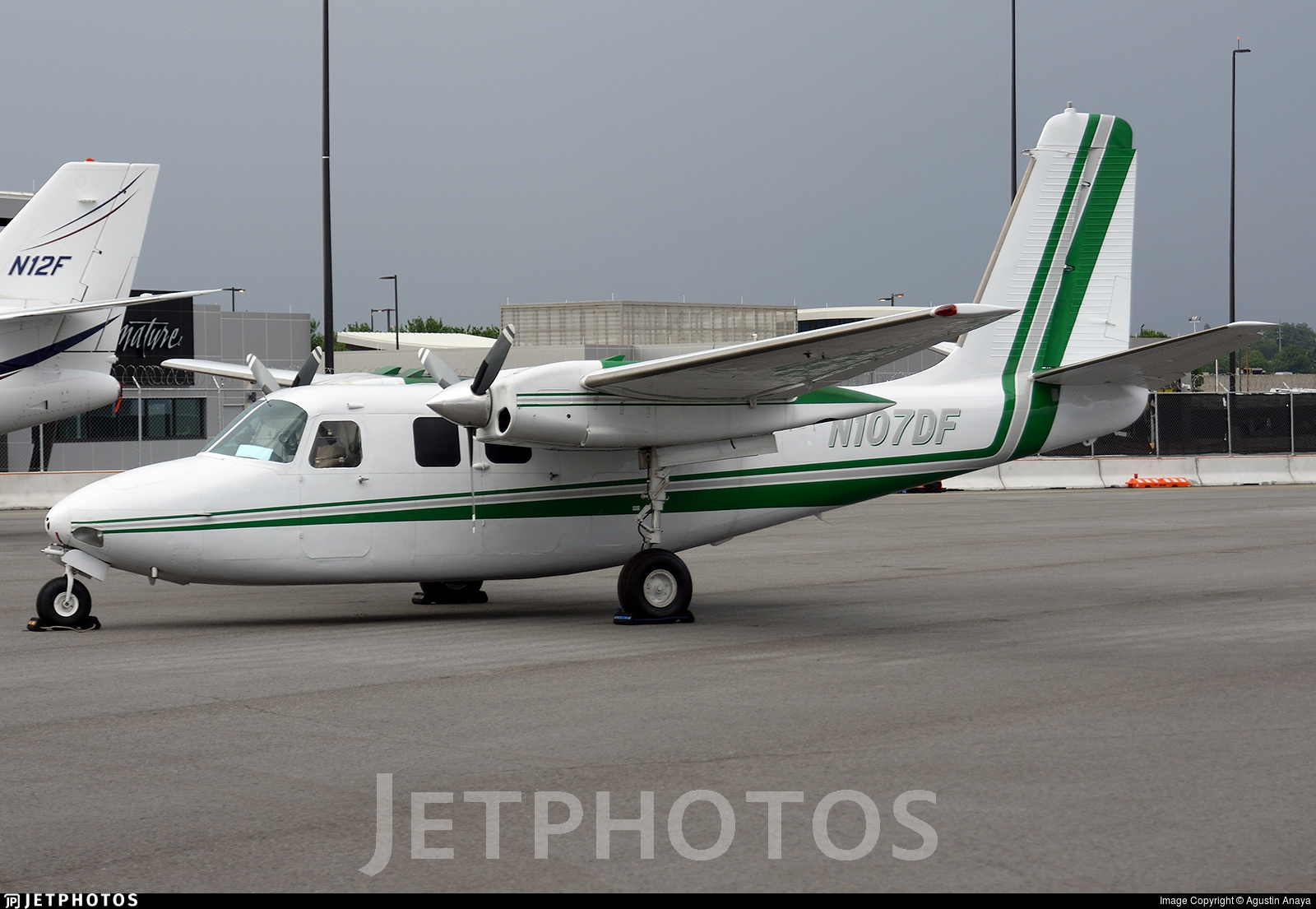 N107DF - Aero Commander 500B - Central Airlines