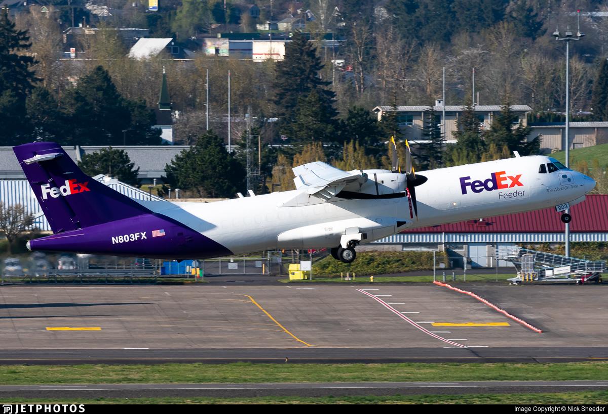 N803FX - ATR 72-212(F) - FedEx Feeder (Empire Airlines)