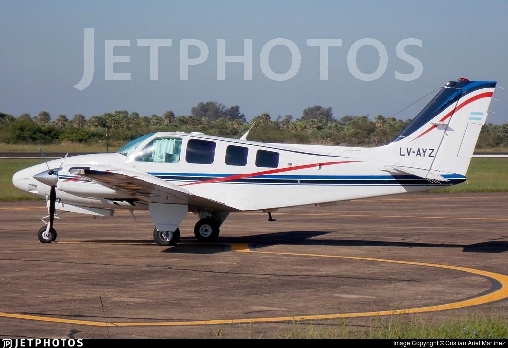 LV-AYZ - Beechcraft 58 Baron - Private