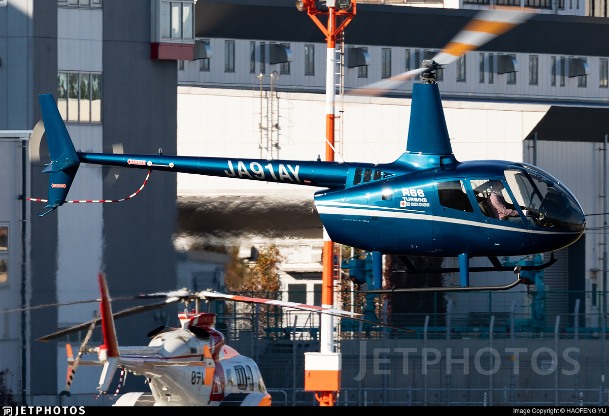 JA91AY - Robinson R66 Turbine - Private