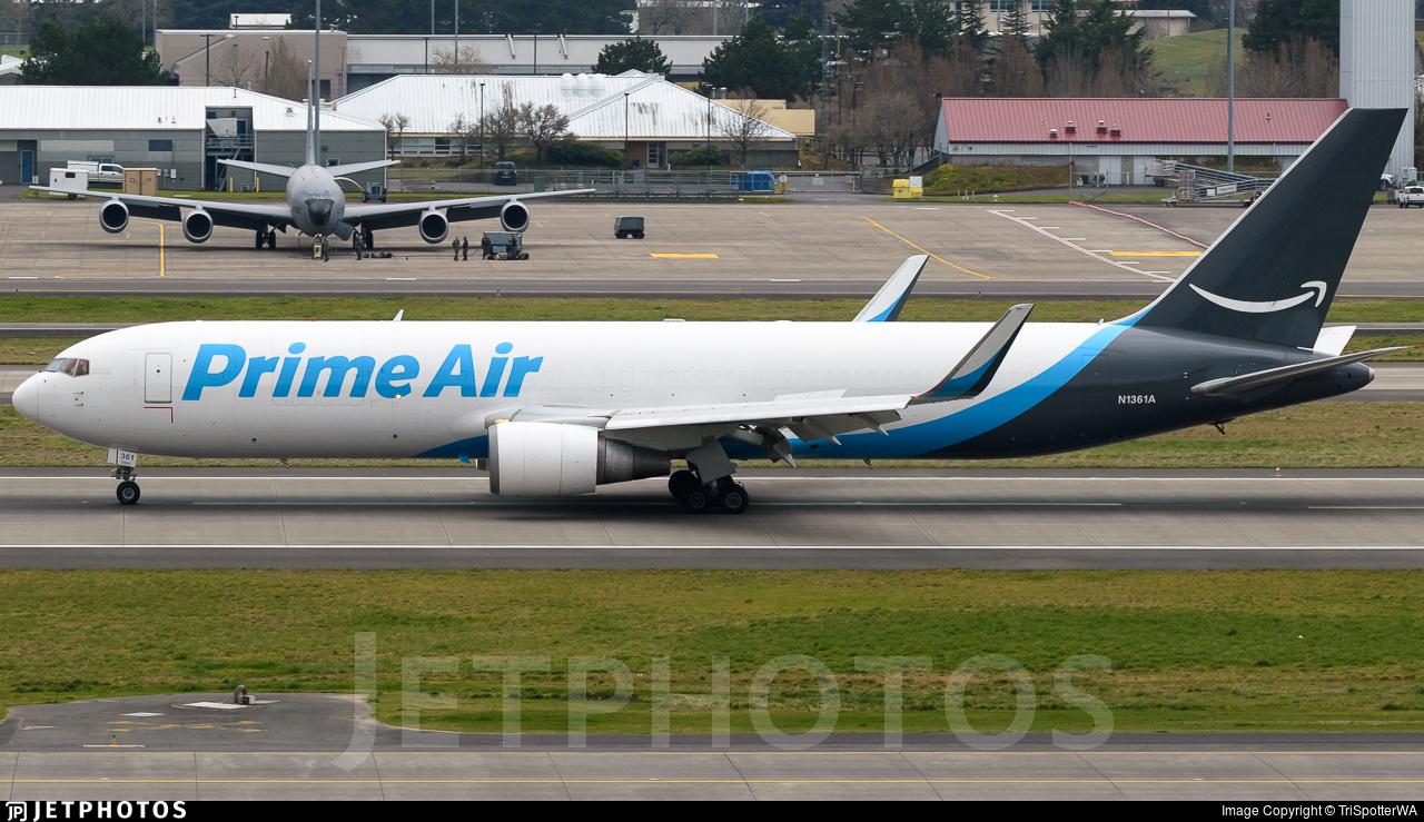 N1361A - Boeing 767-31B(ER)(BCF) - Amazon Prime Air (Atlas Air)