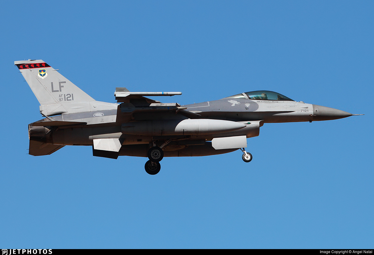 97-0121 - General Dynamics F-16C Fighting Falcon - Singapore - Air Force
