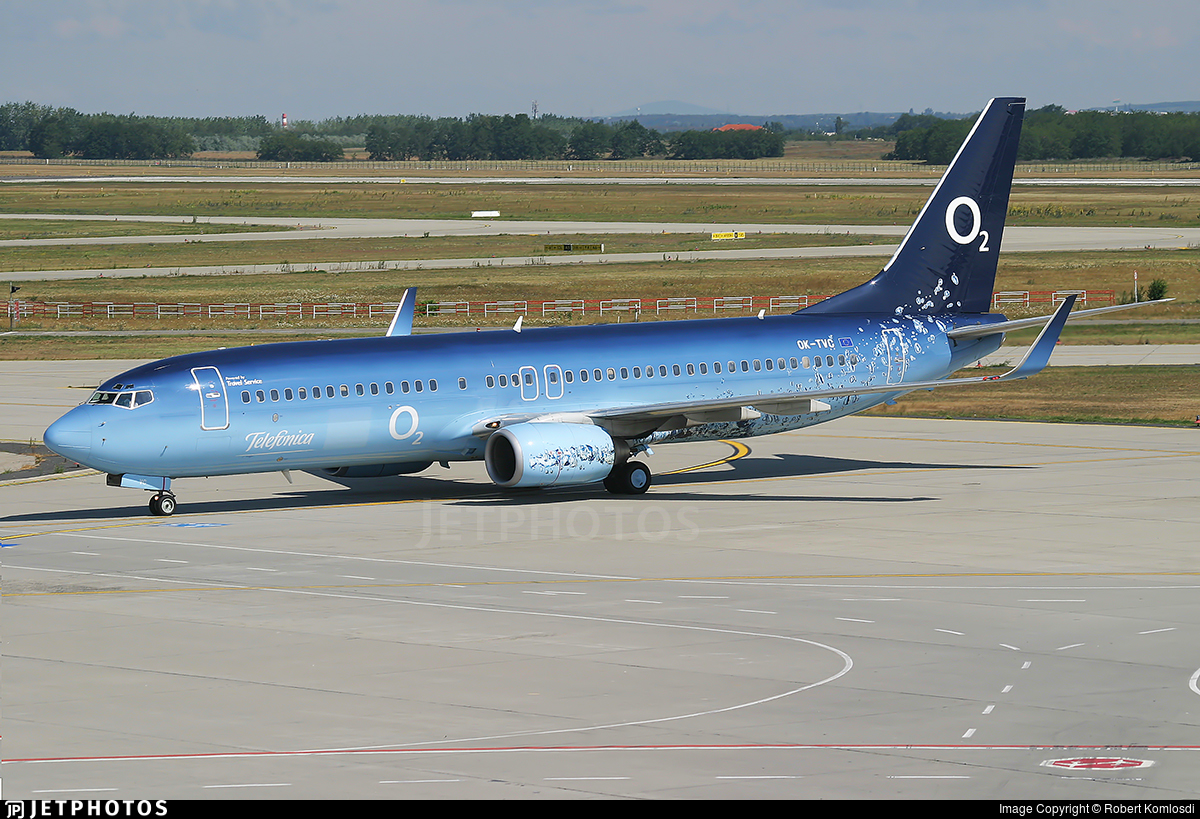 OK-TVC - Boeing 737-86Q - Travel Service