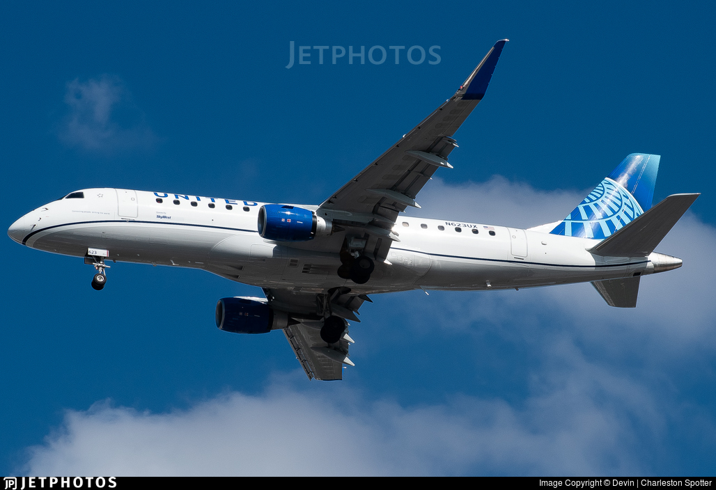 N623UX - Embraer 170-200LL - United Express (SkyWest Airlines)