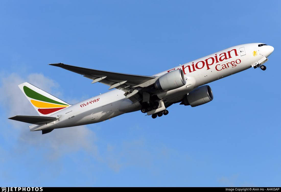 ET-AWE - Boeing 777-F60 - Ethiopian Cargo