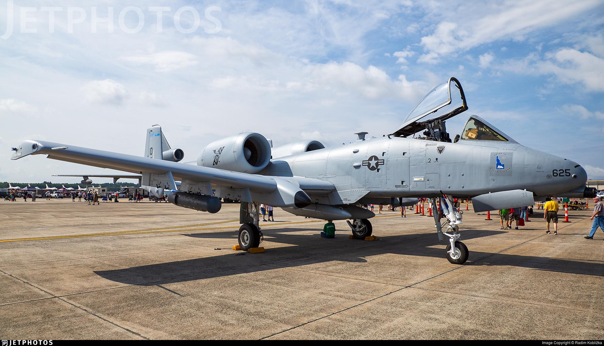 78-0625 - Fairchild A-10C Thunderbolt II - United States - US Air Force (USAF)