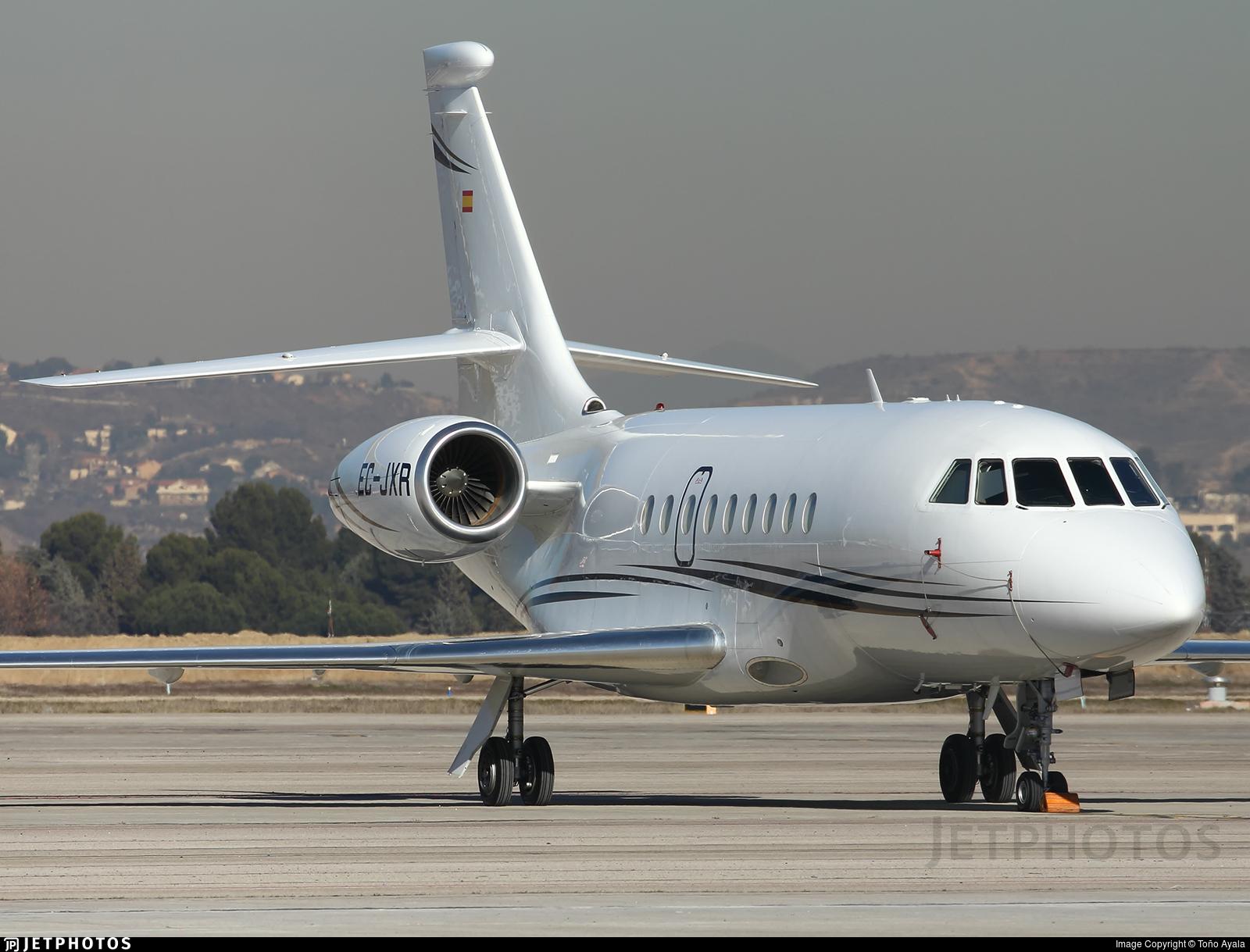 EC-JXR - Dassault Falcon 2000 - Gestair Private Jets