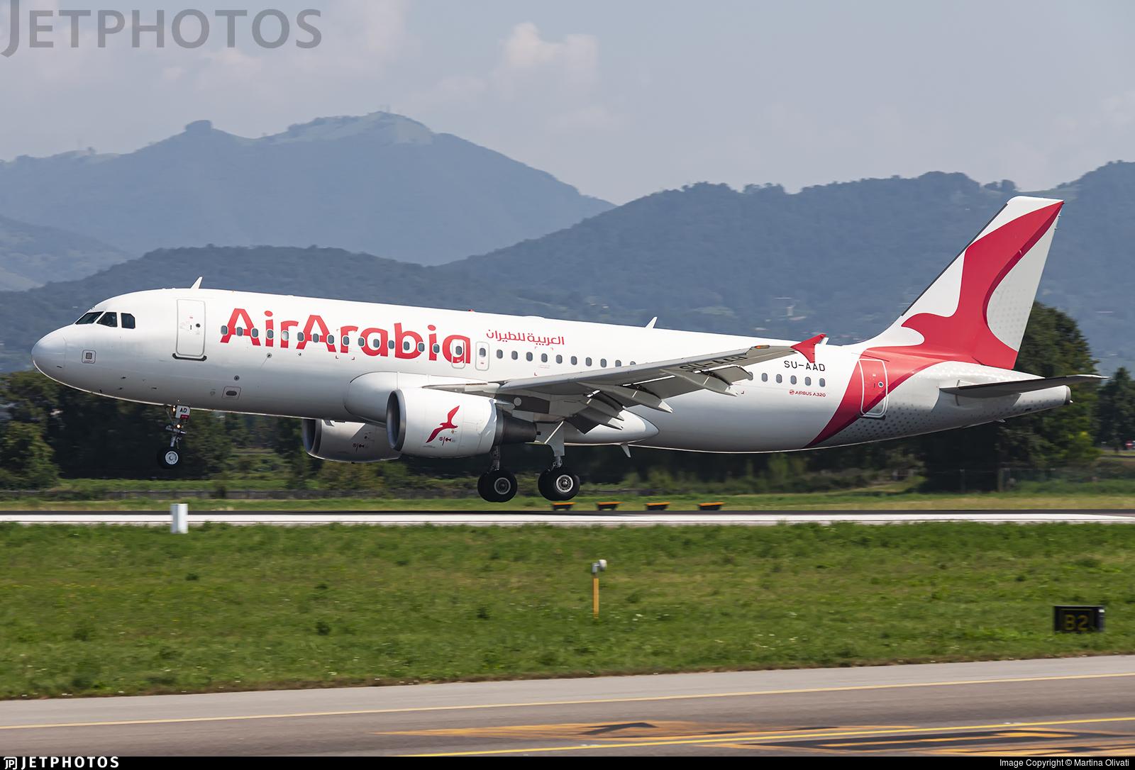 SU-AAD - Airbus A320-214 - Air Arabia Egypt