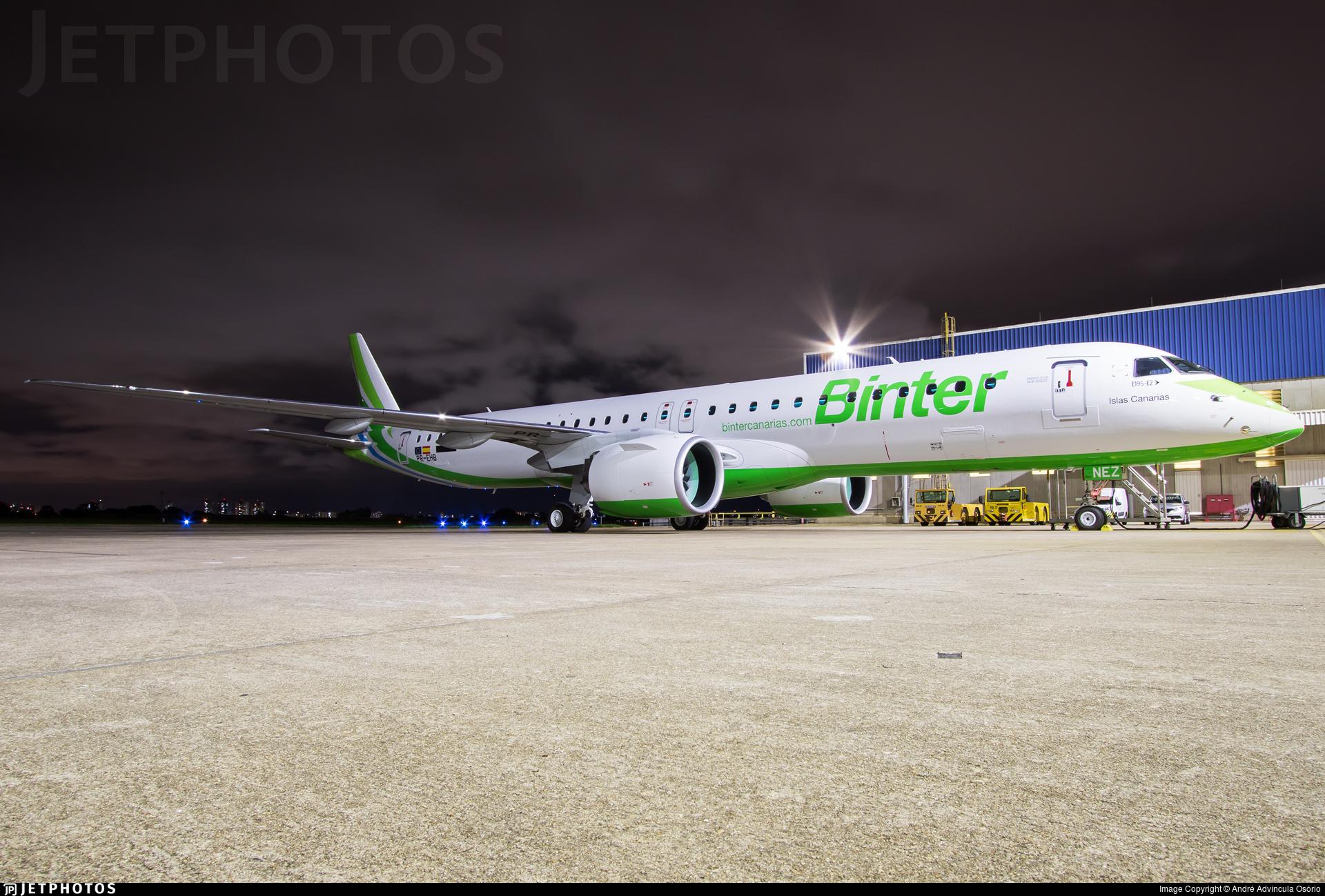 PR-EHB - Embraer 190-400STD - Binter Canarias