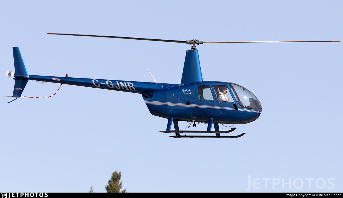 C-GJNR - Robinson R44 Raven II - Private